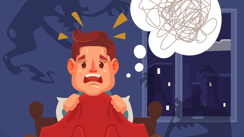 你常做惡夢? 小心隱藏精神疾病