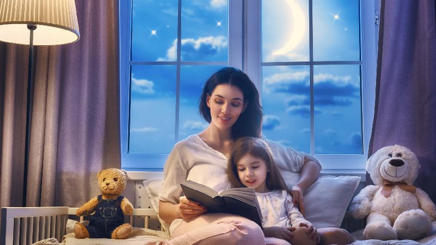 孩子很晚還不睡?用一本書就能催眠