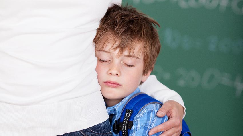 一上學就哭鬧 9技巧緩解孩子分離焦慮