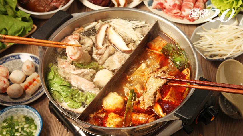 冷天吃鍋正是時候,這樣吃不會胖又健康