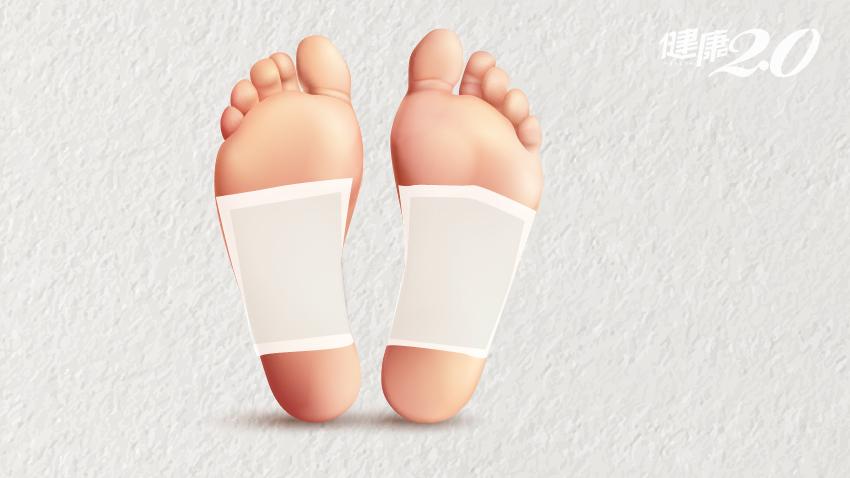 足部排濕貼片,真有「吸濕排毒」的神奇效果?