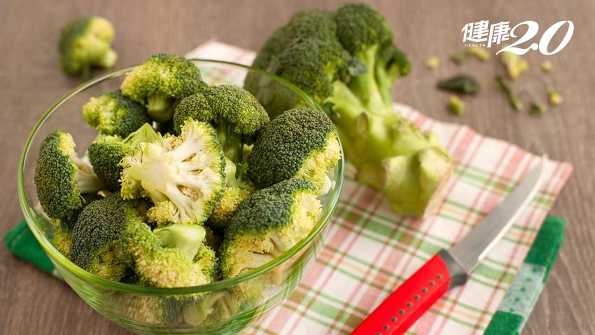 綠花椰很營養!但要「這樣切」,抗癌效果才更好