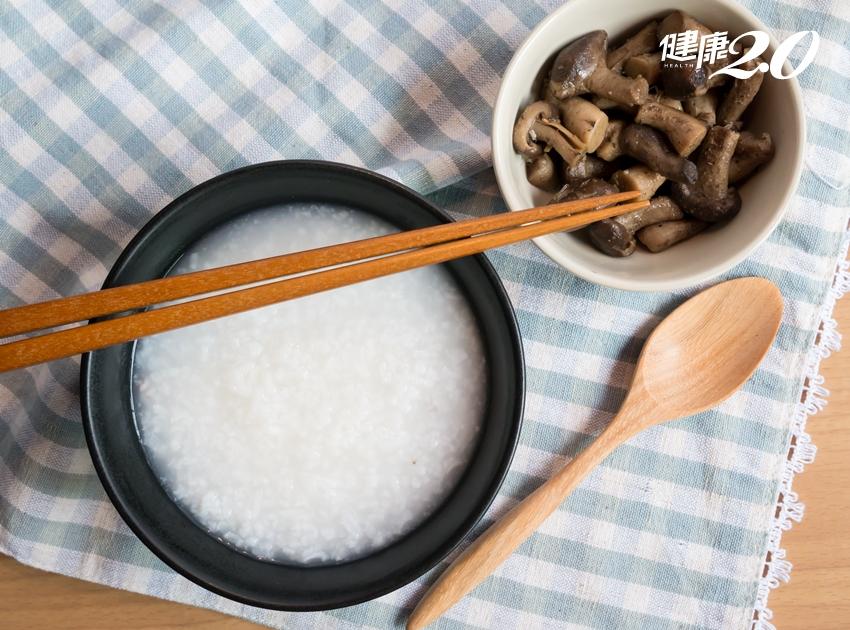 腸胃炎好掃興!一碗清粥配3種小菜能救急