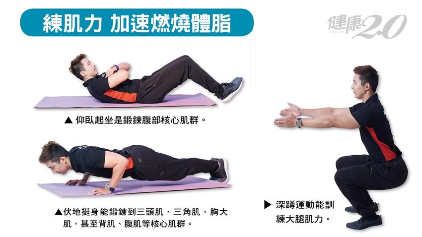 體脂降不下來?資深健身教練教你 這樣做有效燃脂