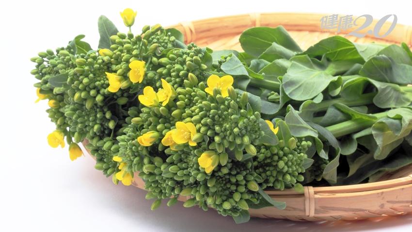 春天的免疫力高手:油菜「這樣吃」健康功效最棒