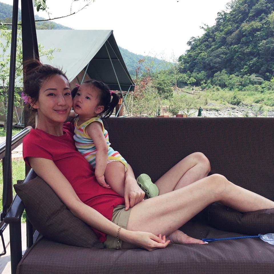 就連女星隋棠也曾帶著小孩一同入住。(圖片來源:隋棠粉絲團)