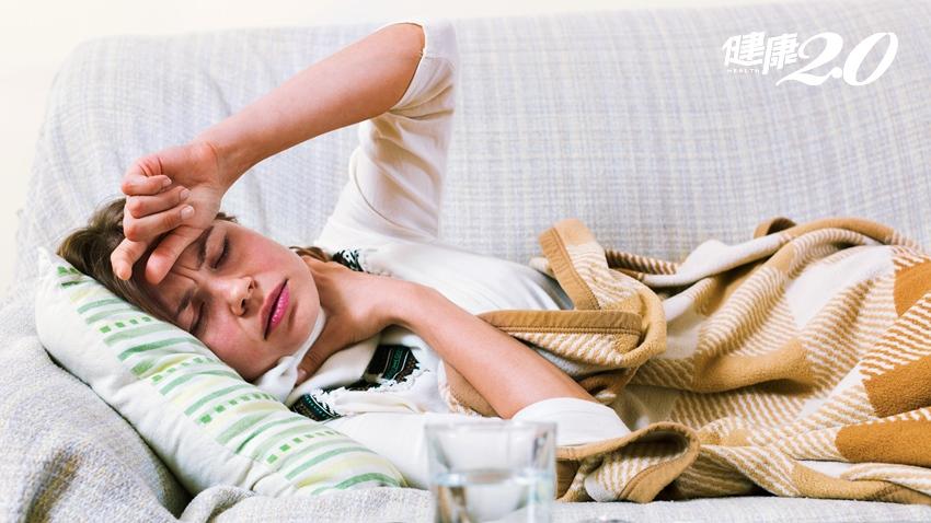 流感吃藥後還覺得頭暈、無力,當心致命性心肌炎併發症