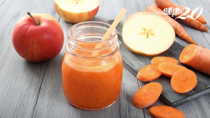 早晨一杯果菜汁,腦身心變年輕!專家叮嚀2件事