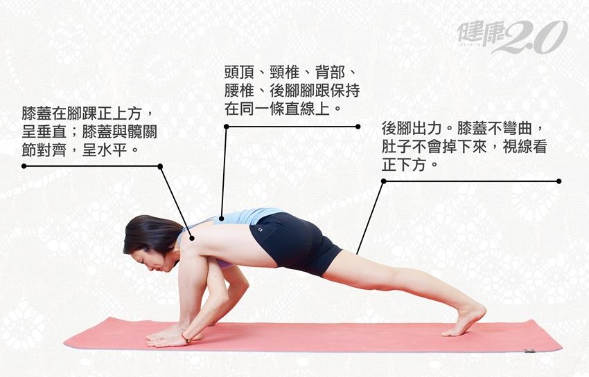 瑜珈「衝刺式」預備起!舒展背部又緊實腿臀