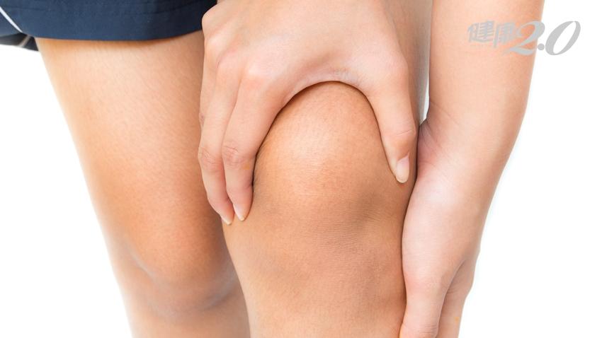 下樓梯、蹲下時膝蓋特別痛?做到5件事,膝關節多用10年