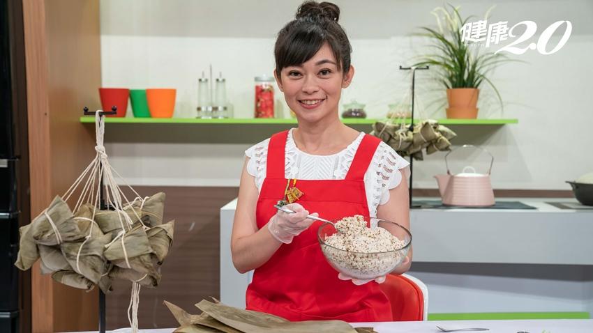 吃藜麥+按穴道 鄭凱云分享「吃粽不過重」的妙法