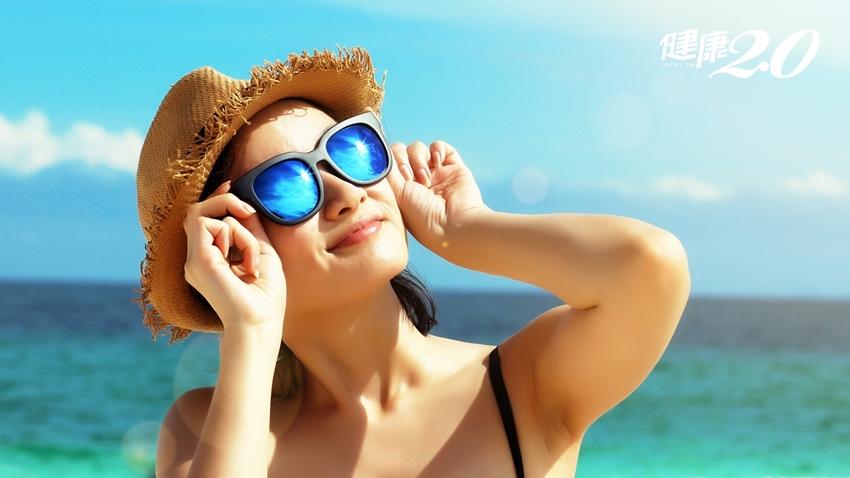 有色鏡片=防曬?選錯太陽眼鏡,眼睛老得更快!