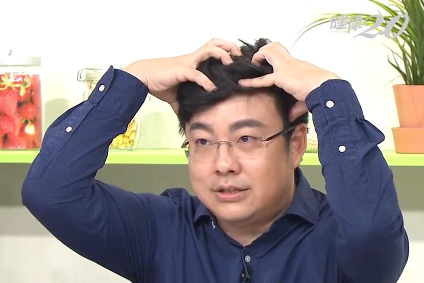 拯救M型禿、高髮線!醫師傳授「揉麵團」養髮神技