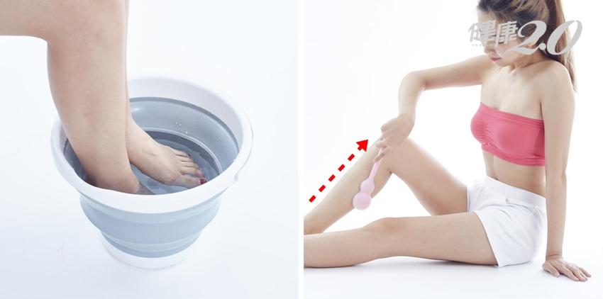 中醫瘦腿秘技看這裡:輕輕拍腿5分鐘排毒消腫
