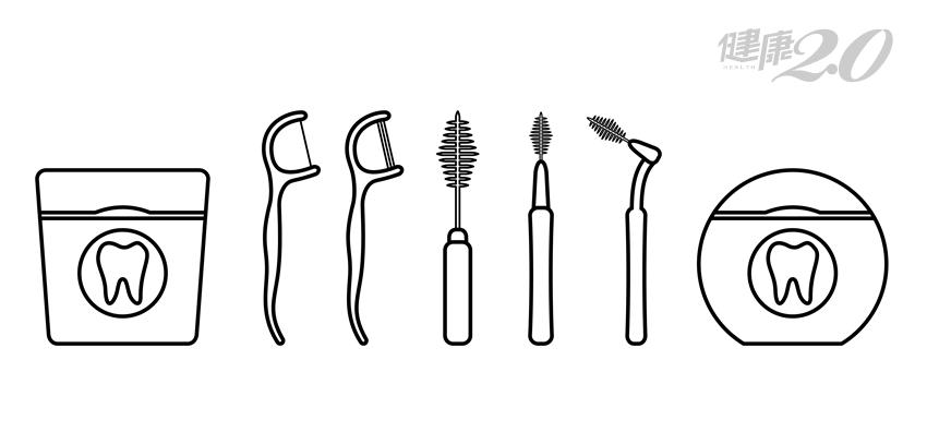 一把牙刷不夠力!牙線、牙間刷要選「這一款」