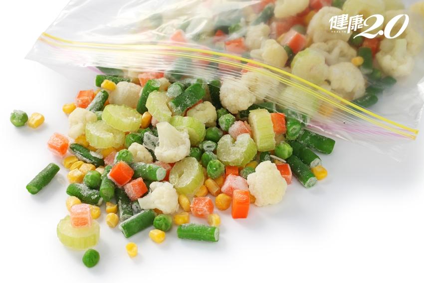 蔬菜汆燙後冷凍3個月不會壞?營養師證實:是真的!