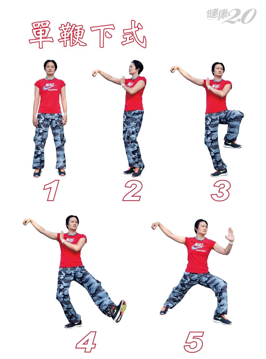最完美的運動!練2招太極,每天10分鐘強健心肺功能