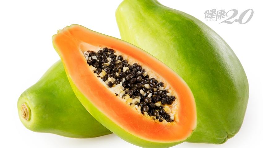 木瓜養顏、助消化又抗癌 但青木瓜、熟木瓜選對了效果加倍