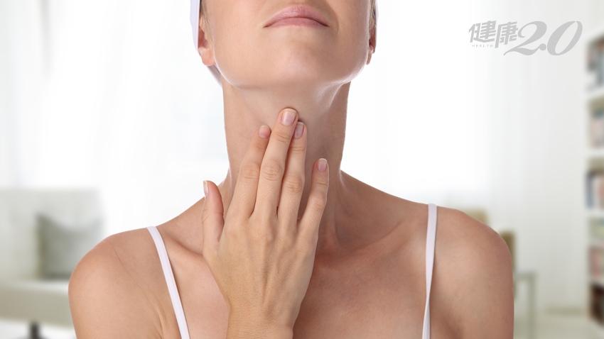 大媽長喉結,變身成「漢子」? 竟是罕見甲狀舌骨囊腫