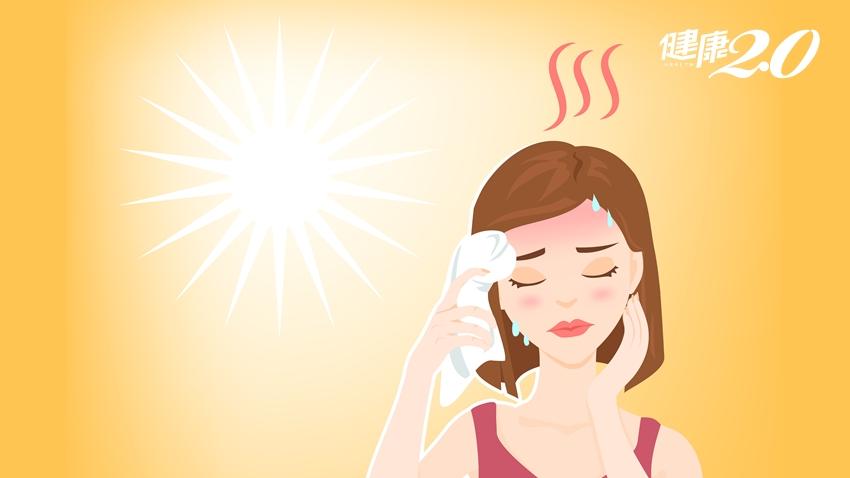 頭暈、噁心、想吐,中暑還是冷氣病?醫師一張表教你分辨