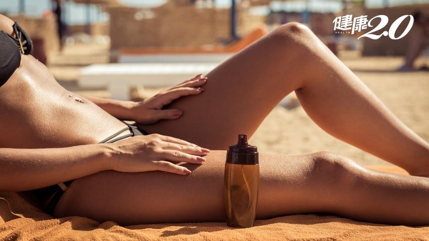 不愛白肉肌?專家說這樣曬古銅肌 均勻不變「斑馬」