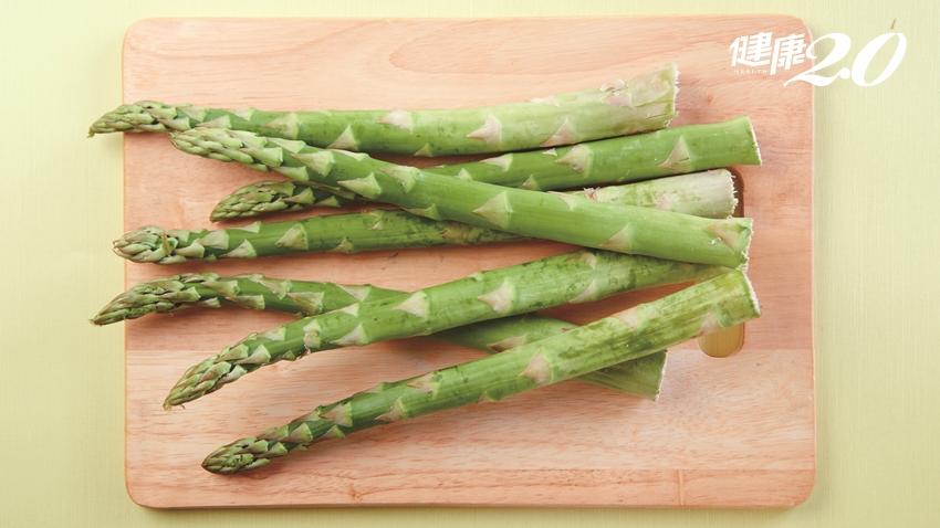 不愧是蔬菜之王!蘆筍幫身體強效補水,也是護心抗癌功臣