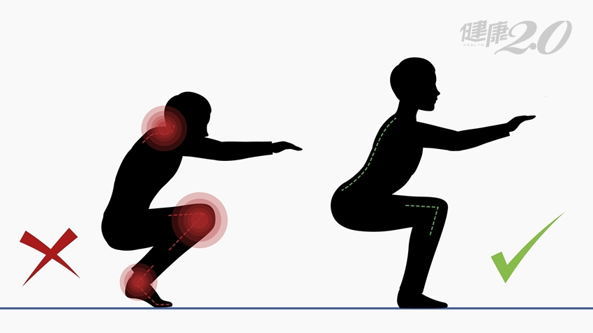 老少皆宜!武術教練教你正確深蹲,膝關節不受傷
