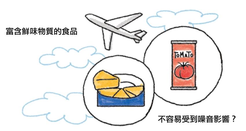 飛機餐不好吃?你的味覺被「它」綁架了!