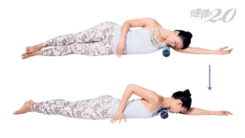 【女性健康】3個按摩自療術 鬆筋膜、解痠痛、促進循環