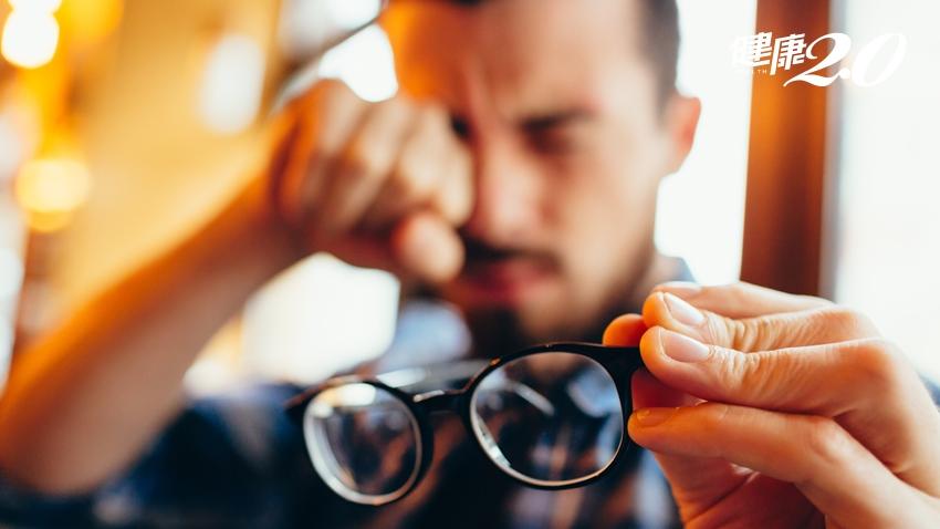 用眼過度竟罹乾眼症 「自體血清眼藥水」有效挽救視力