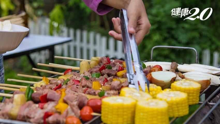 健康吃燒烤把握「2多1少1要」 腸道負擔少、便祕不上身