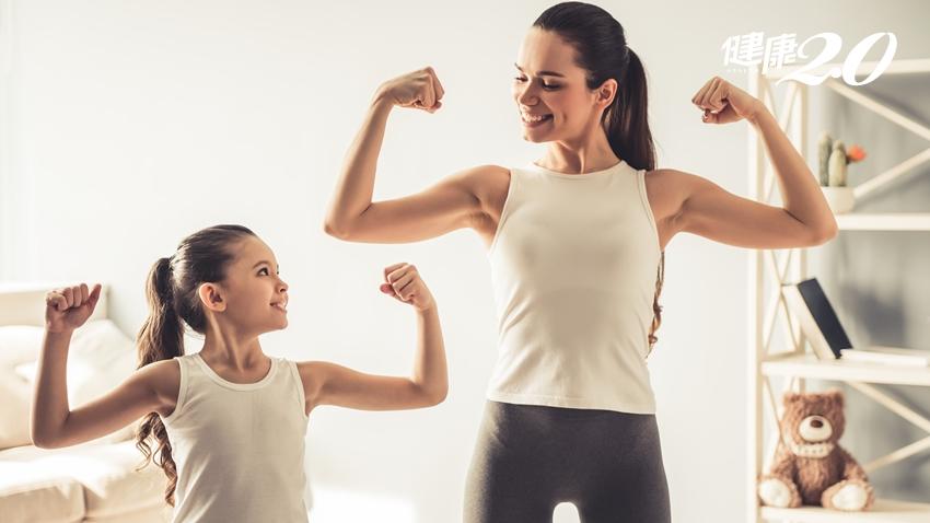 【女性健康】掌握「增肌」正確觀念 媽媽也能有少女身材