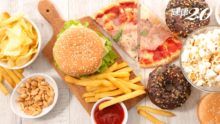 常吃垃圾食物增憂鬱風險 地中海飲食能降中風及癌症危機