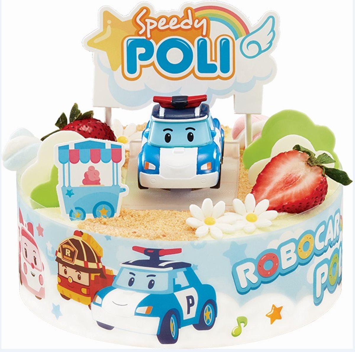 2款都好想買!超人氣「波力救援小隊」蛋糕限量登場  加碼布丁奶茶第2杯10元