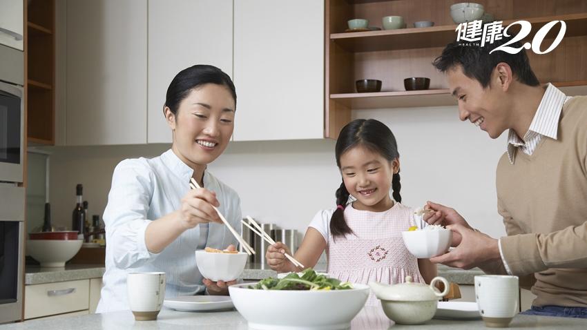 多陪孩子吃飯好處多 情緒管理、減少挑食與不發胖