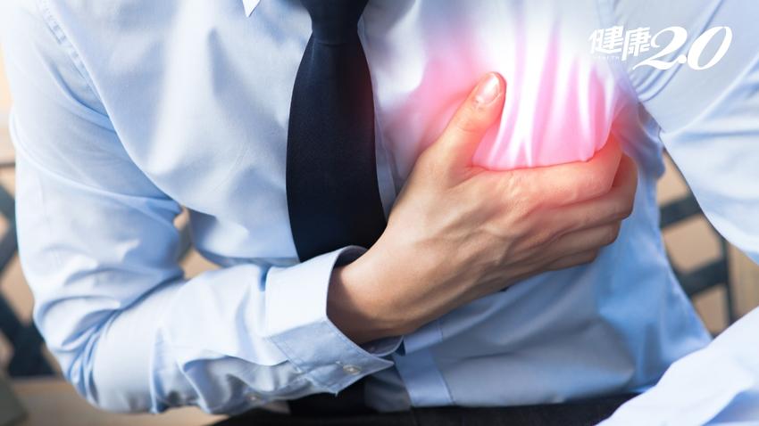 胸痛就是心肌梗塞?3種「致命性重症」可能上身,醫師教你辨別