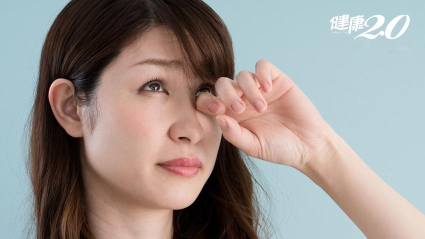 眼睛乾巴巴就猛點人工淚液?還不如這樣幫眼睛保濕