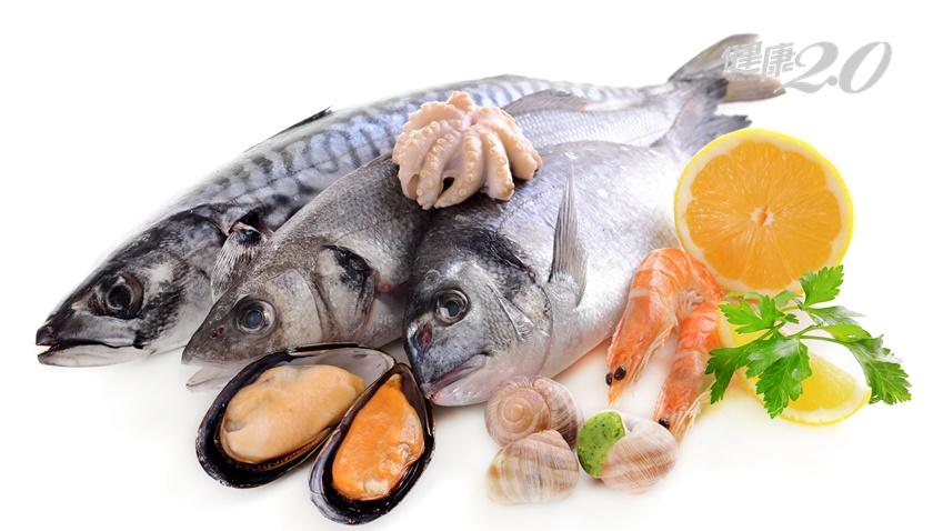 愛吃海鮮還不夠,吃的種類多有助抗衰老與防心血管疾病