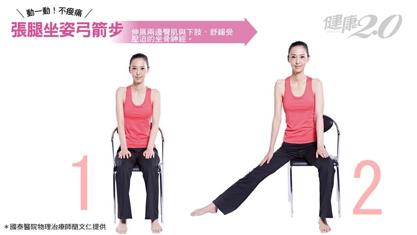 坐骨神經痛讓你腿麻走不動?簡文仁傳授1招舒緩疼痛