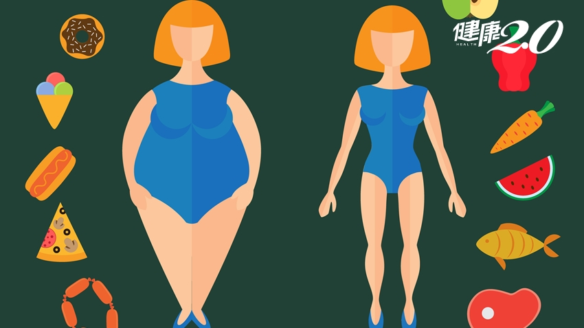 擺脫肥胖魔咒!吃對9個飲食習慣 減重成功一半