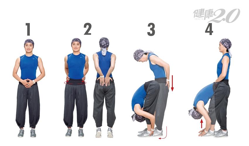李筱娟教練傳授「雙手養生功」:顧腎、護腰、保健泌尿系統