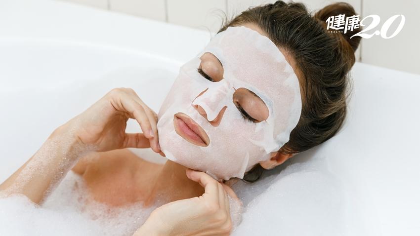 洗澡敷臉效果好?面膜精華液用剩冰起來?這些事「千萬別做」
