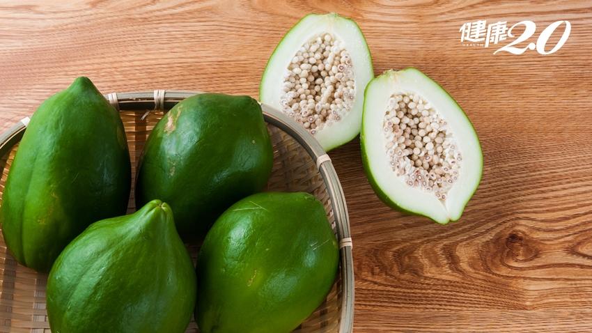 紅肉木瓜多C又降膽固醇,想靠青木瓜豐胸要搭「它」