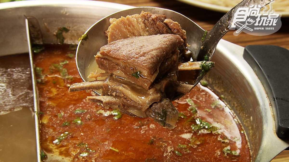 羊肉爐也有鴛鴦鍋!鎮店之寶「羊三層」超Q彈,最怕羶味的莎莎也愛吃
