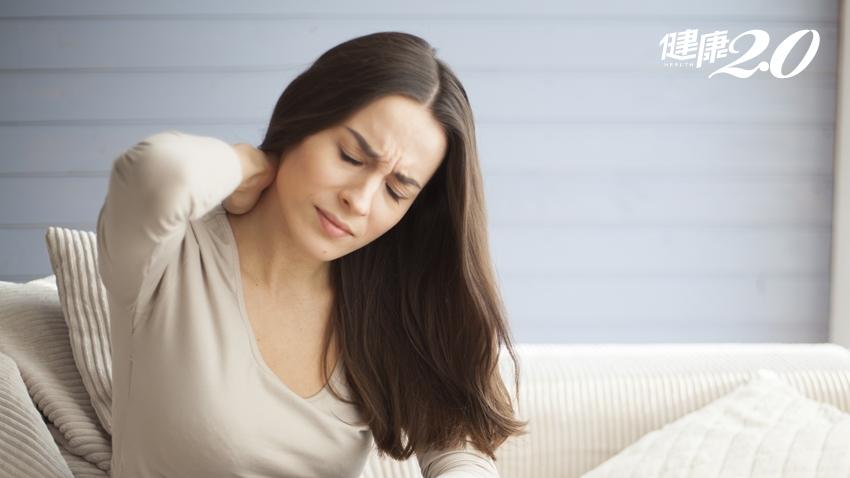 筋太緊百病叢生!落枕、胸悶、頭脹痛…出現這些症狀要注意了!