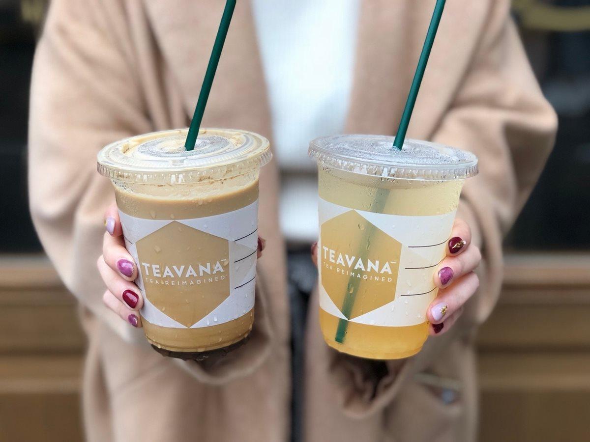 星巴克新奶茶「蜜桃紅茶、香草紅茶那堤」+連續6天抽買一送一券