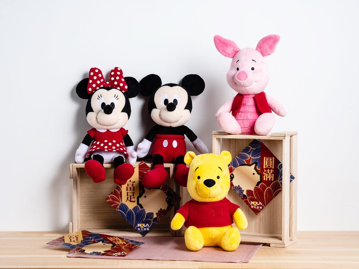 迪士尼迷出動!限量福袋「米奇、米妮、維尼、小豬」快搶,再抽獨家提袋