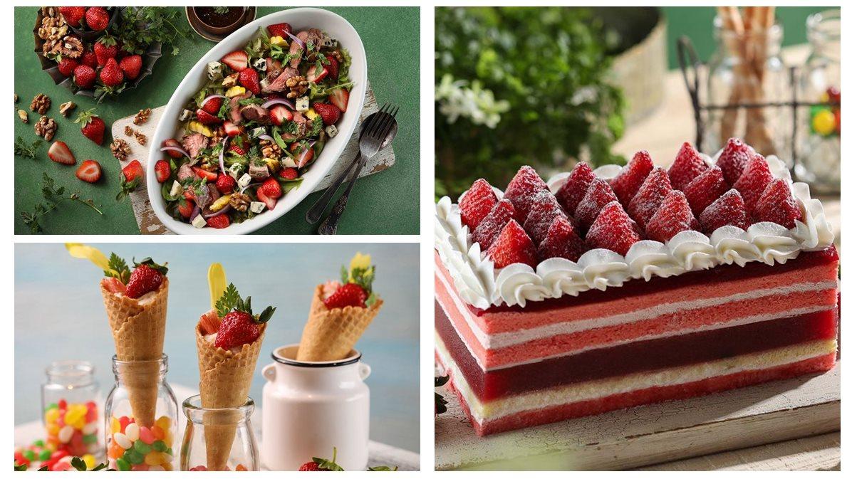 大湖草莓吃到飽!景觀餐廳BUFFET好狂  超過20種草莓口味任吃