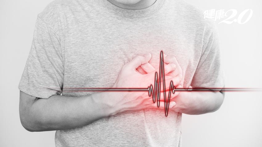 這8種人最容易得狹心症 胸悶痛、冒冷汗 快就醫