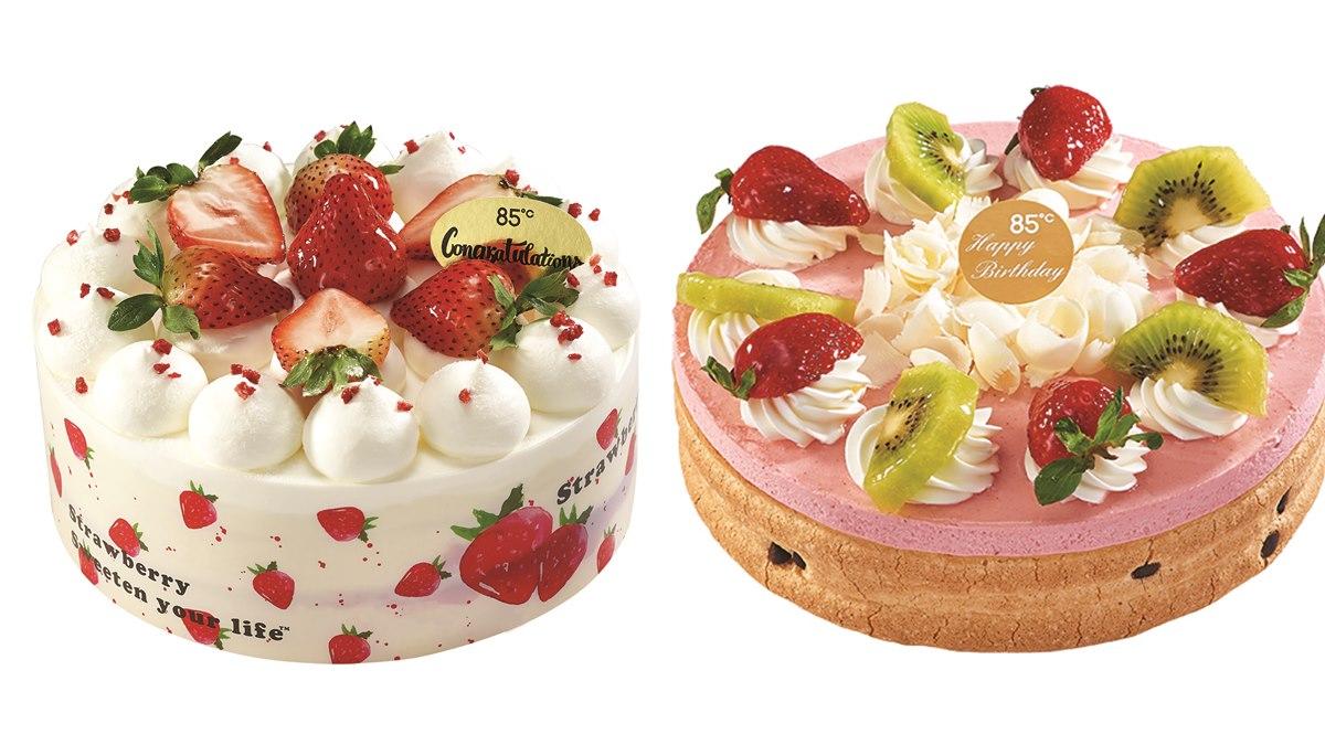 甜點迷要吃!85度C冬天「草莓季」開跑,必吃草莓蒙布朗、紅豆草莓大福